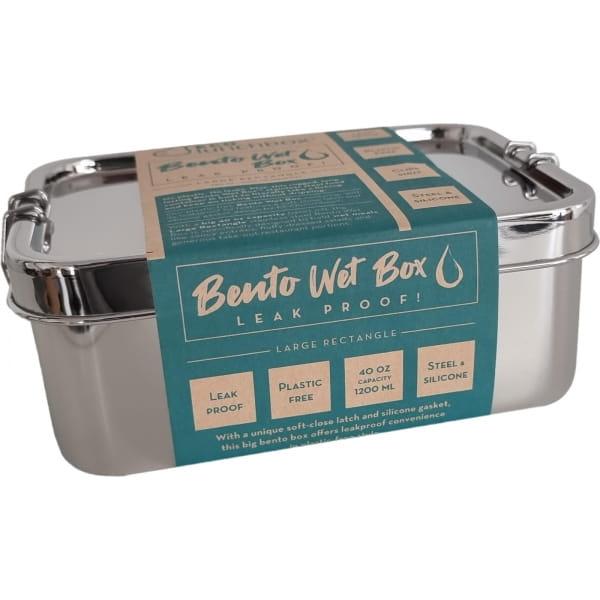 ECOlunchbox Bento Wet Box Large Rectangle - Proviantdose - Bild 1