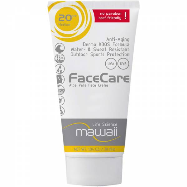 mawaii FaceCare SPF 20 - 30 ml - Bild 1