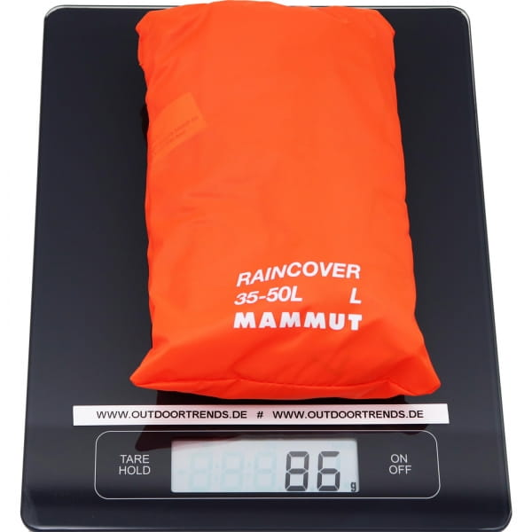 Mammut Raincover - Regenhülle vibrant orange - Bild 5