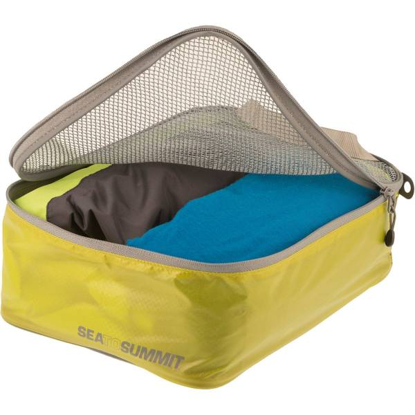 Sea to Summit TravellingLight™ Garment Mesh Bags Größe S lime-grey - Bild 2