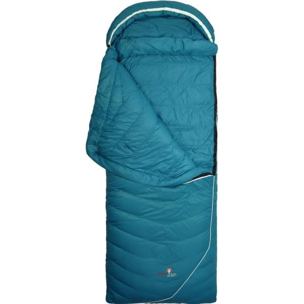 Grüezi Bag Biopod DownWool Subzero Comfort - Daunen- & Wollschlafsack autumn blue - Bild 4