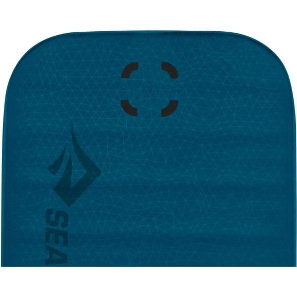 Sea to Summit Comfort Deluxe S.I. Double - Isomatte byron blue - Bild 4