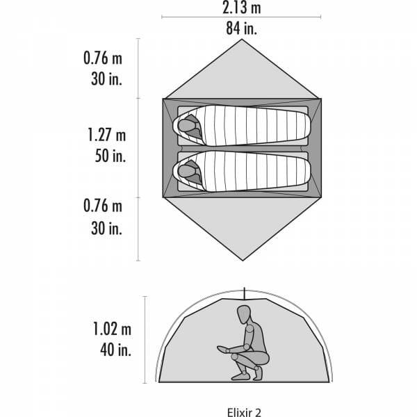 MSR Elixir 2 - Zwei-Personen-Zelt - Bild 8