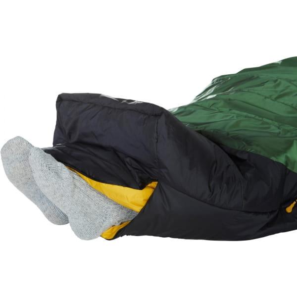 Nordisk Gormsson -2° Mummy - 3-Jahreszeiten-Schlafsack artichoke green-mustard yellow-black - Bild 14