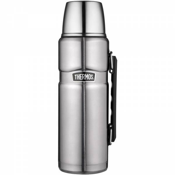 Thermos King - 1,2 Liter Isolierflasche edelstahl silber - Bild 3
