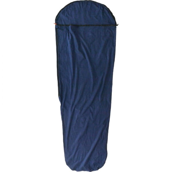 Origin Outdoors Sleeping Liner Baumwolle - Mumienform royalblau - Bild 3