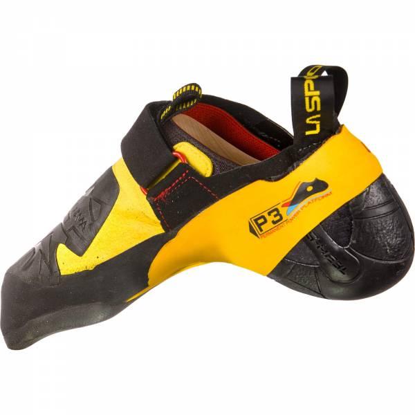 La Sportiva Skwama - Kletterschuhe black-yellow - Bild 7