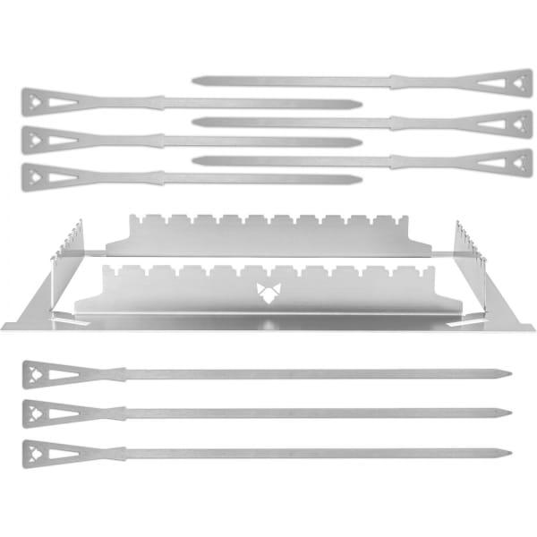 FENNEK Grillspießhalter Set für Fennek 2.0 Grill - Bild 1