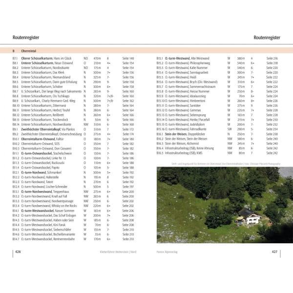 Panico Verlag Wetterstein Nord - Kletterführer Alpin - Bild 12