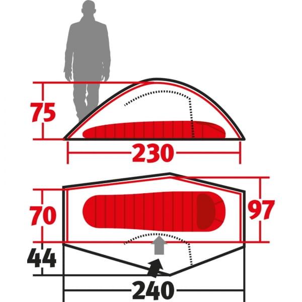 Wechsel Pathfinder Unlimited Line - 1-Personen-Zelt green - Bild 3