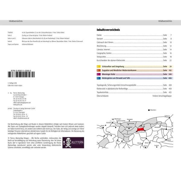 Panico Verlag Wetterstein Süd - Kletterführer - Bild 2