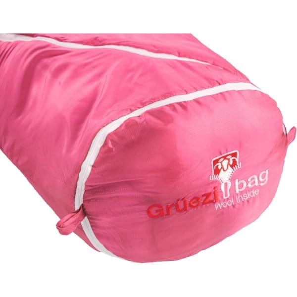 Grüezi Bag Biopod Wolle Kids World Traveller - Wollschlafsack claret red - Bild 21