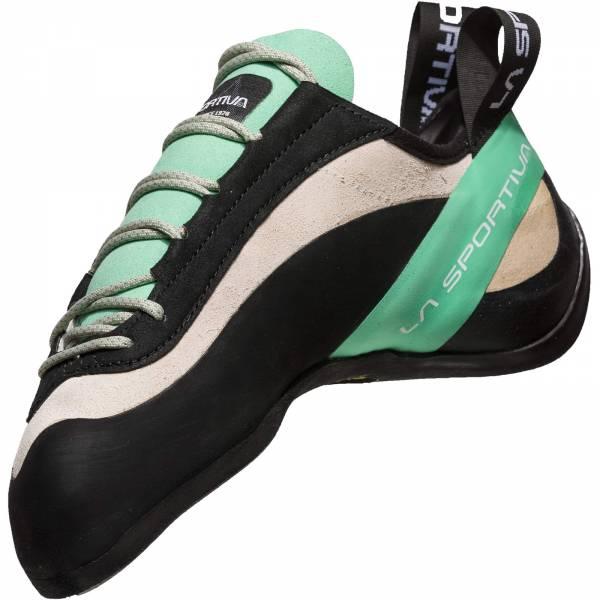 La Sportiva Miura Woman - Kletterschuhe white-jade green - Bild 3