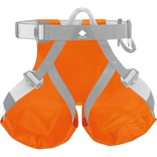 Petzl Schutzsitz für Canyon Gurte - Rutschhose orange - Bild 2