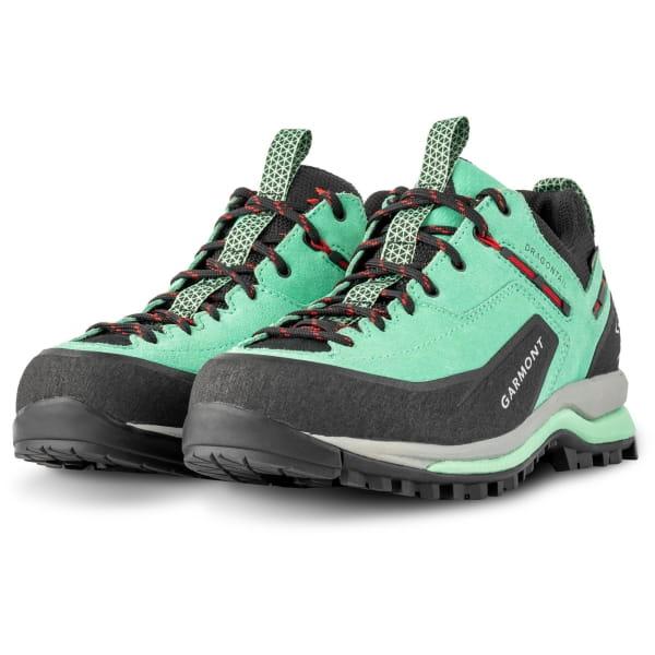 Garmont Women's Dragontail Tech GTX - Approach Schuhe green-red - Bild 1