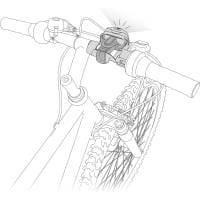 Vorschau: Petzl Bike Adapt - Stirnlampenhalterung Fahrrad - Bild 2