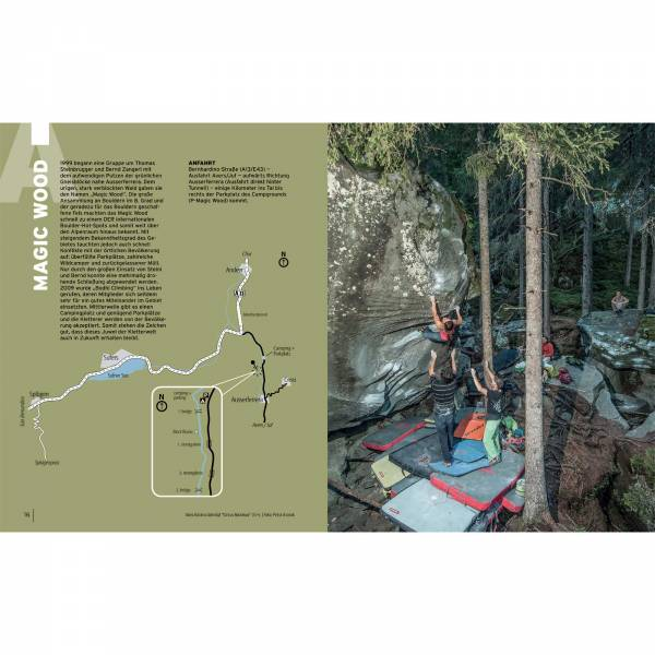 Panico Verlag Alpen en bloc - Band 1 - Boulderführer - Bild 4