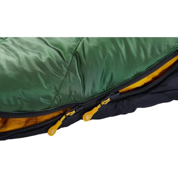Nordisk Gormsson -2° Egg - 3-Jahreszeiten-Schlafsack artichoke green-mustard yellow-black - Bild 10