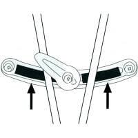 Vorschau: Ortlieb Scheuerschutz für Radtaschen - Bild 3