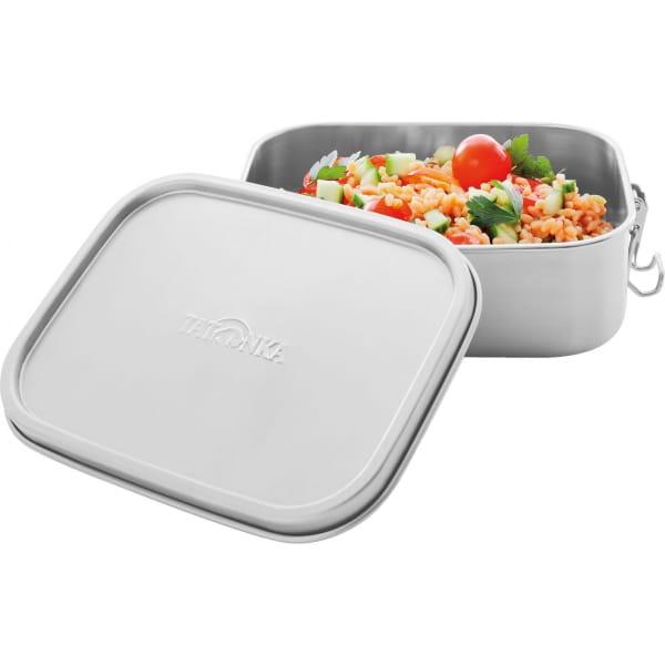 Tatonka Lunch Box I Lock 800 ml - Edelstahl-Proviantdose stainless - Bild 2
