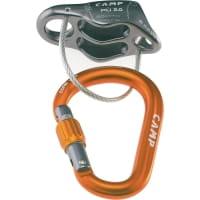 Camp Più 2.0 Belay Kit mit Core Lock Karabiner