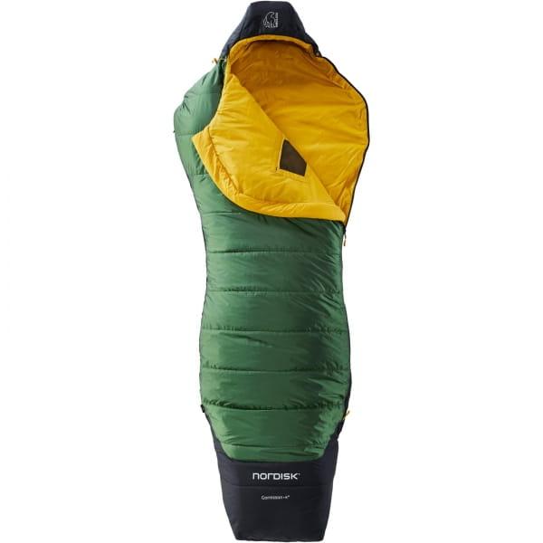 Nordisk Gormsson +4° Curve - Sommerschlafsack artichoke green-mustard yellow-black - Bild 3