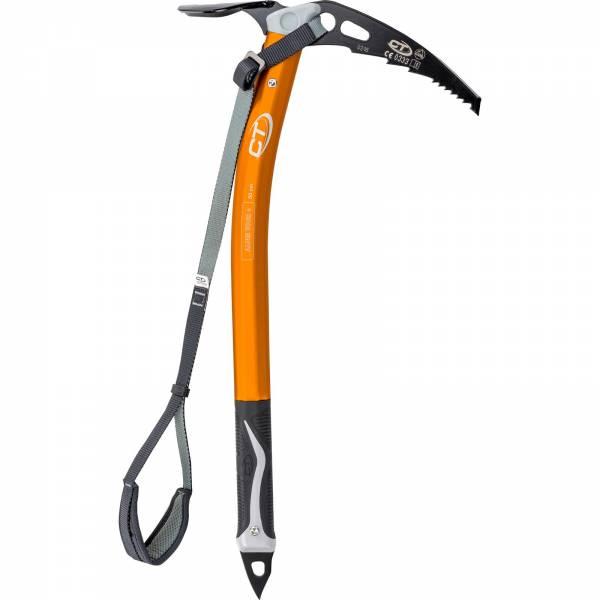 Climbing Technology Alpin Tour+ - Eispickel für Gletschertouren orange-black - Bild 1