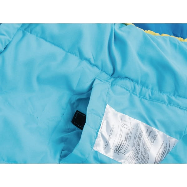 Grüezi Bag Kids Grow Colorful - Schlafsack für Kinder water - Bild 12