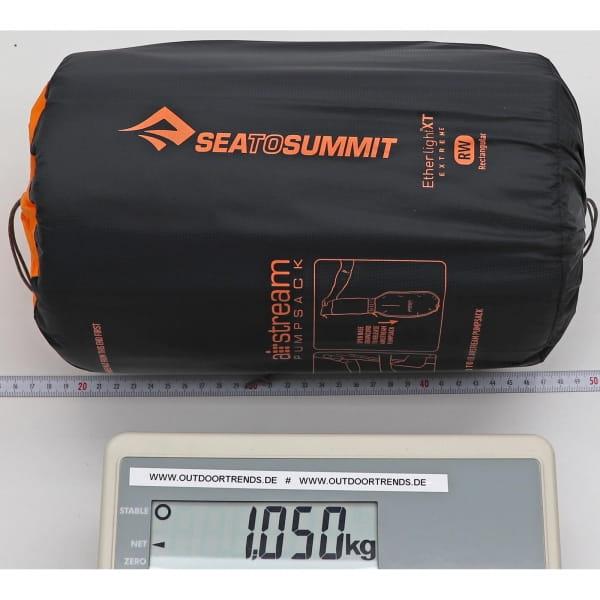 Sea to Summit EtherLite XT Extreme Rectangular - Schlafmatte black-orange - Bild 6