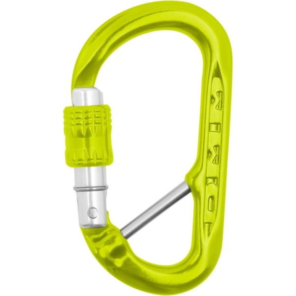DMM XSRE Lock Captive Bar - Materialkarabiner lime - Bild 3