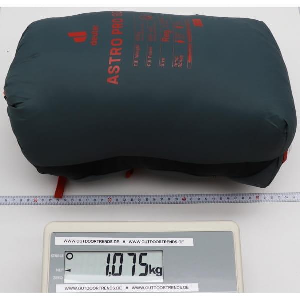 deuter Astro Pro 600 - Daunen-Schlafsack teal-paprika - Bild 7