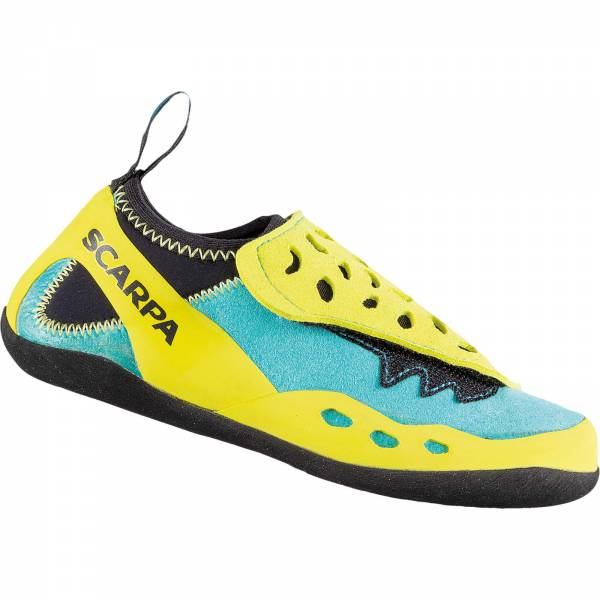 Scarpa Piki J - Kinder-Kletterschuh maledive-yellow - Bild 1