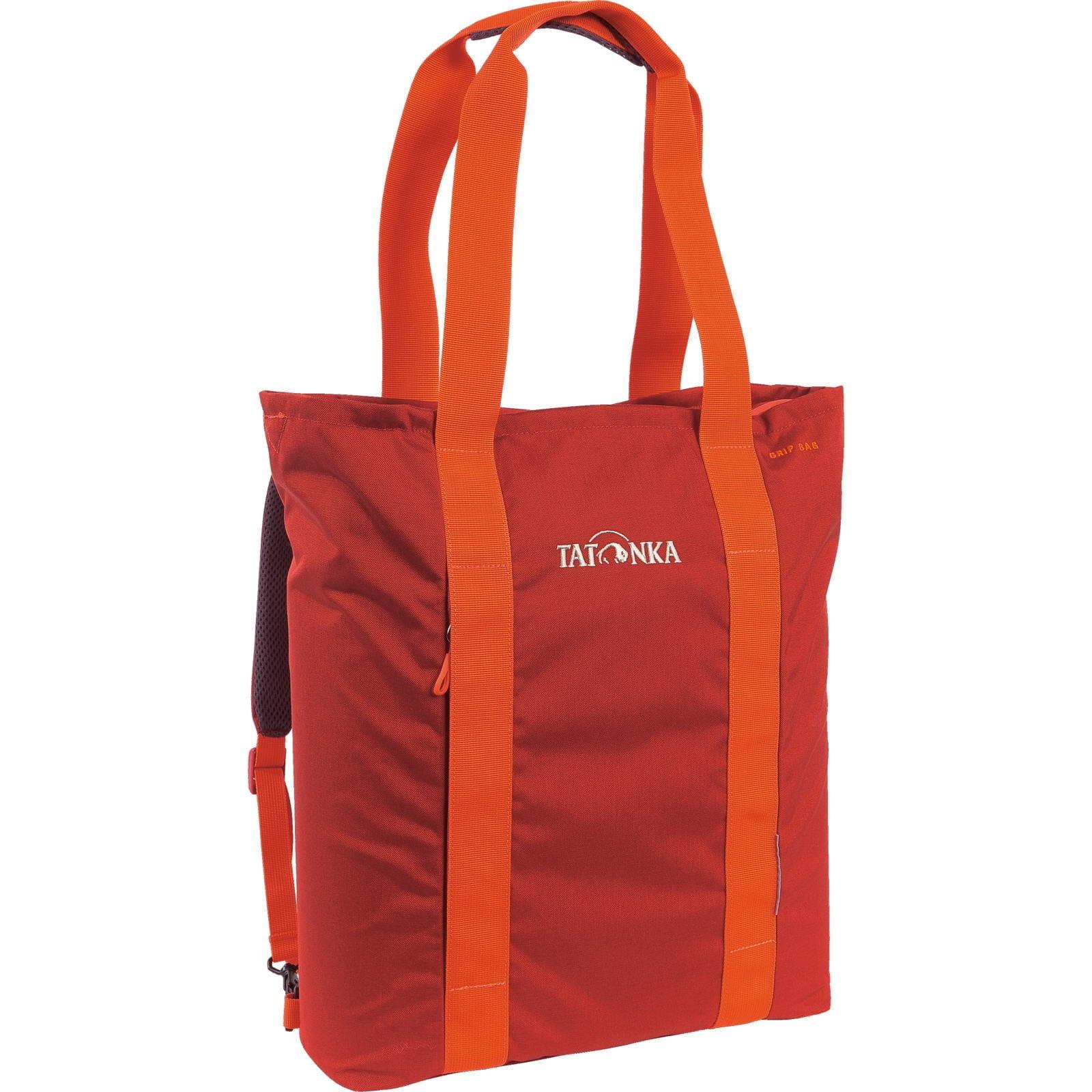 Tatonka Grip Bag - Rucksack-Einkaufstasche redbrown - Bild 5
