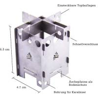 Vorschau: bushcraft essentials EDCBOX - Mikrokocher - Bild 2