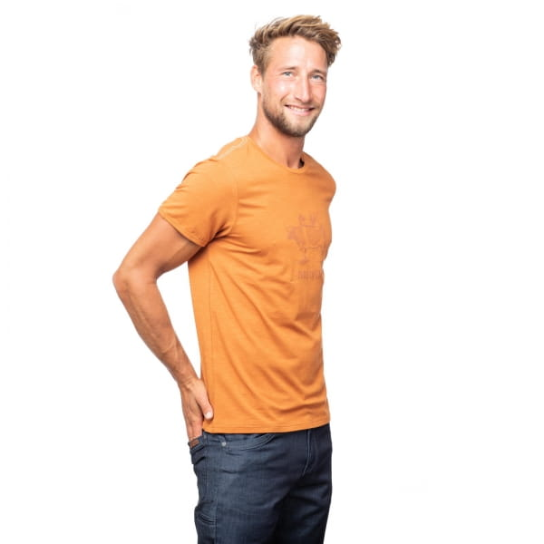 Chillaz Men's Cow - T-Shirt rust - Bild 3