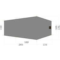 Tatonka Floor Sheet LT Gargia 3 - Zeltunterlage