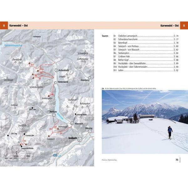 Panico Verlag Karwendel-Rofan-Wetterstein - Skitour Führer - Bild 7