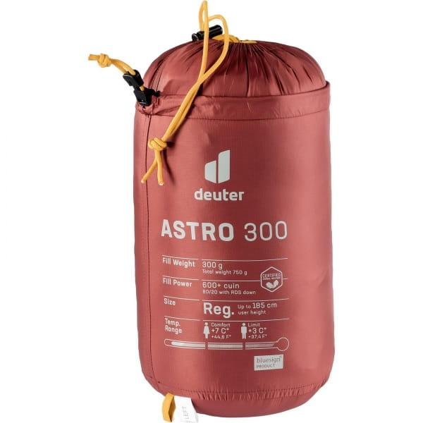 deuter Astro 300 - Daunen-Schlafsack redwood-curry - Bild 6