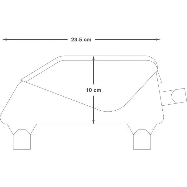 Apidura Racing Top Tube Pack 1 L - Rahmentasche - Bild 4