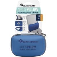 Vorschau: Sea to Summit Aeros Premium Lumbar Support Pillow - Lendenwirbelkissen navy - Bild 8