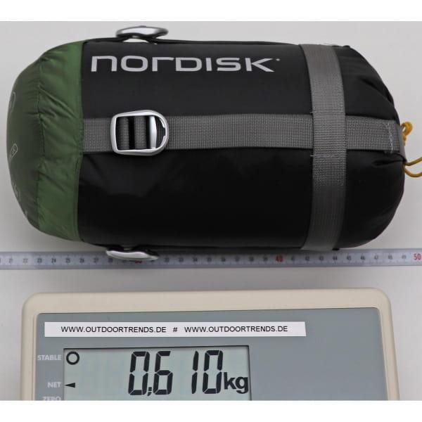 Nordisk Gormsson +10° Curve - Sommerschlafsack artichoke green-mustard yellow-black - Bild 4