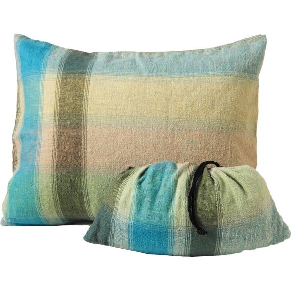 COCOON Cotton Flanell Pillow Case Small african rainbow - Bild 1