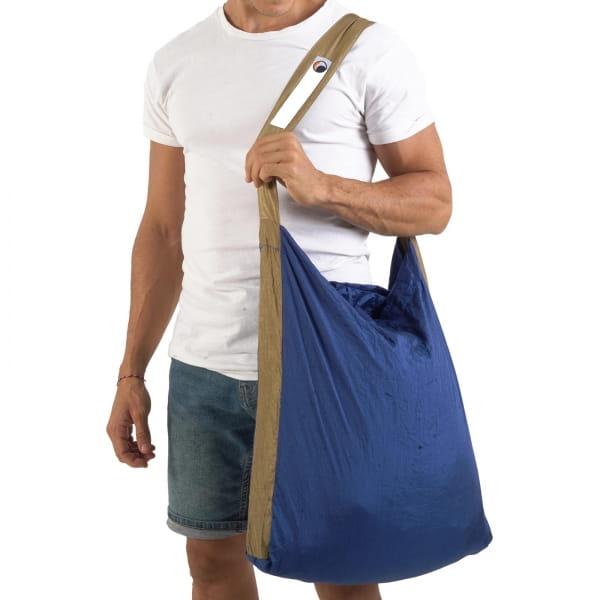 TICKET TO THE MOON Eco Bag L - Einkaufstasche royal blue-brown - Bild 6