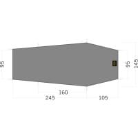 Tatonka Floor Sheet LT Gargia 2 - Zeltunterlage