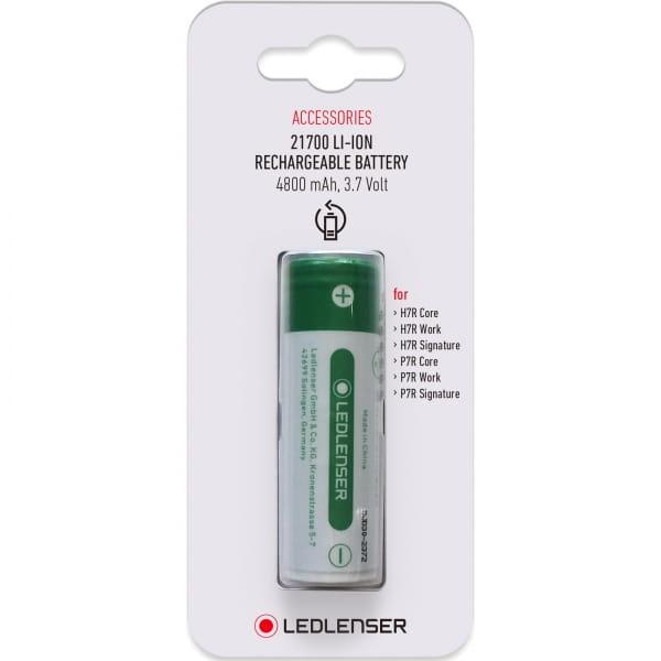 Ledlenser 21700 Lithium-Ionen Rechargeable Battery 3,7 V / 4800 mAh - Ersatzbatterie - Bild 1