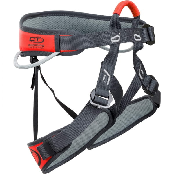 Climbing Technology Explorer - Klettersteiggurt black-orange - Bild 1