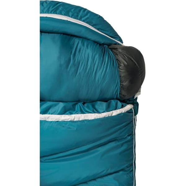 Grüezi Bag Biopod DownWool Subzero Comfort - Daunen- & Wollschlafsack autumn blue - Bild 12