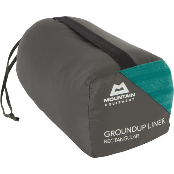Mountain Equipment Groundup Liner Rectangular - Innenschlafsack spruce stripe - Bild 6