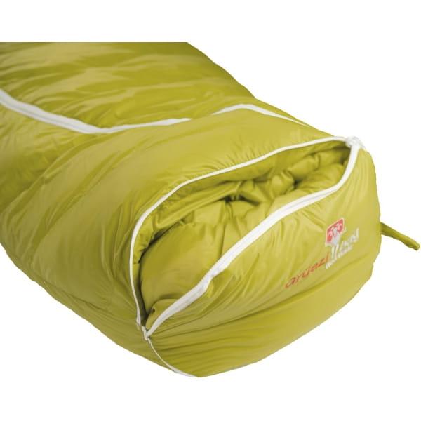 Grüezi Bag Biopod DownWool KidsTeen - Daunen- & Wollschlafsack citron - Bild 12