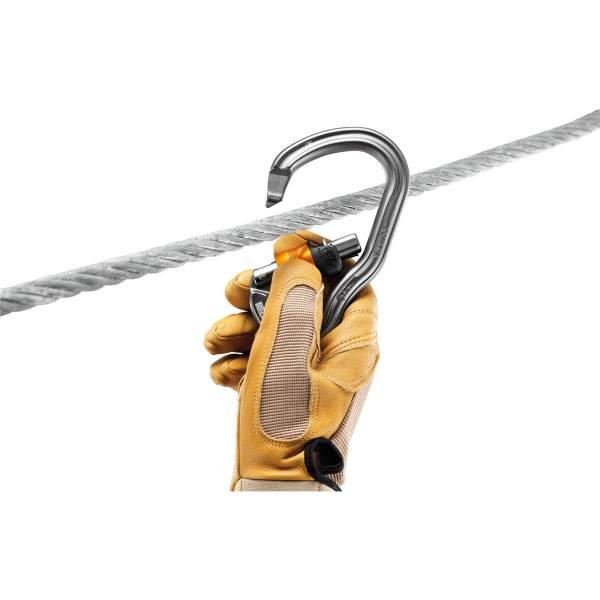 Petzl Vertigo Wire-Lock - Klettersteig-Karabiner - Bild 4